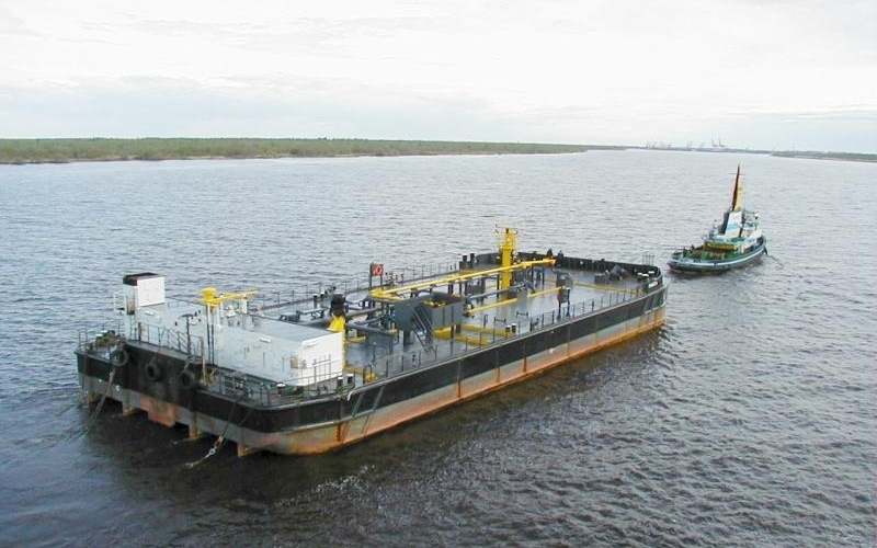 "Oil barge ""Onega"""
