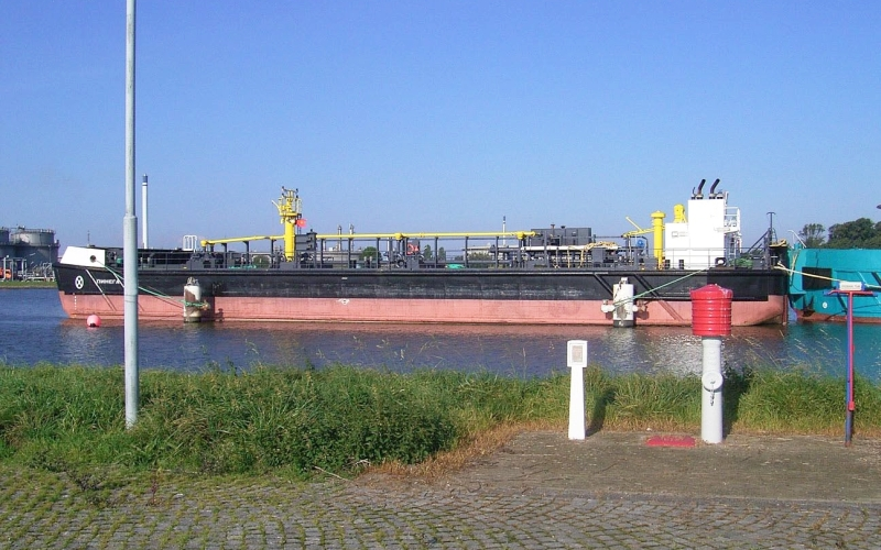 "Oil barge ""Pinega"""