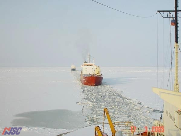 Sea transportation in the Arctic