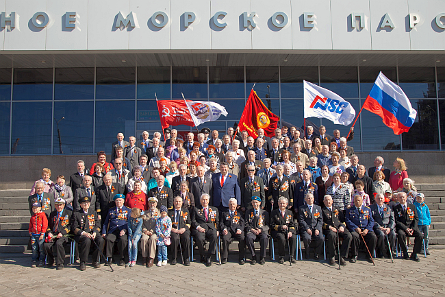 The Second World War veterans of NSC - 2016